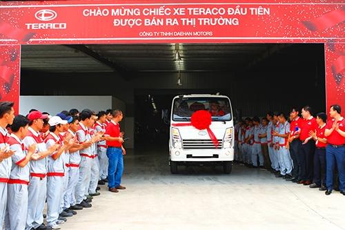 Chào mừng chiếc xe Teraco đầu tiên được bán ra thị trường