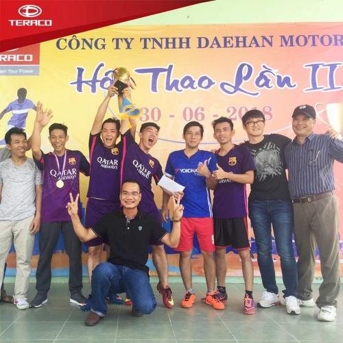 Daehan Motors Sôi Động Hội Thao Lần II