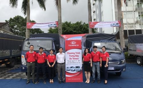 Tổng kết sự kiện trưng bày và giới thiệu xe Teraco tại Hà Tĩnh