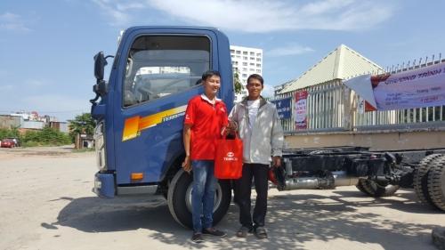Trưng Bày Và Lái Thử Xe Tải Teraco Euro 4 cùng đại lý Ô tô Việt