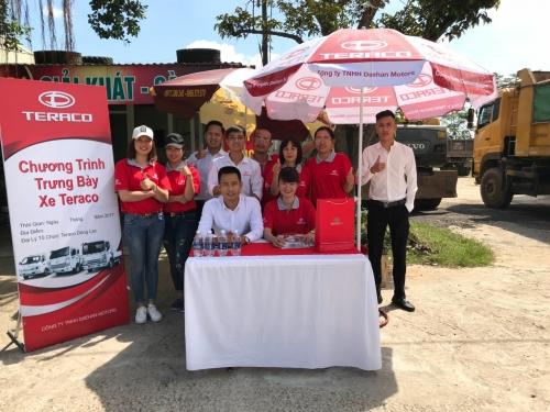 TERACO Dũng Lạc tổ chức thành công sự kiện lái thử xe di động tại Nghệ An