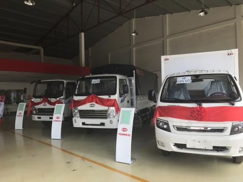 Chào mừng sự kiện trưng bày và lái thử xe Teraco của Đại lý ô tô Thành Phát Đắk Lắk