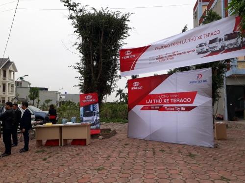Tổng kết chương trình Lái thử và cảm nhận thực tế xe Teraco tại Hưng Yên