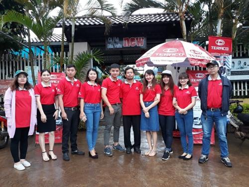 Teraco Thành Phát Đắk Lắk tổ chức thành công sự kiện Trưng bày và lái thử xe Teraco