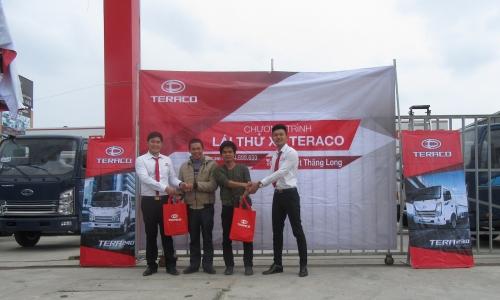 Teraco Việt Thăng Long tổ chức thành công sự kiện trưng bày và lái thử xe Teraco tại Hà Nội