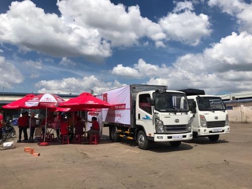 Cùng nhìn lại sự kiện trưng bày và lái thử xe TERACO tại Hóc Môn