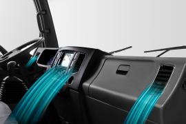 Điều hòa cabin được trang bị tiêu chuẩn theo xe.