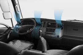 Hệ thống điều hòa nhiệt độ cabin - trang bị tiêu chuẩn.