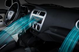 Điều hòa cabin. Hệ thống điều hòa làm lạnh sâu,được trang bị tiêu chuẩn theo xe.